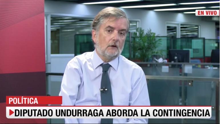 Diputado Undurraga defiende manejo económico del gobierno y cifras de empleo