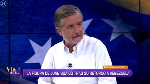 Debate sobre la crisis actual de Venezuela en TVN
