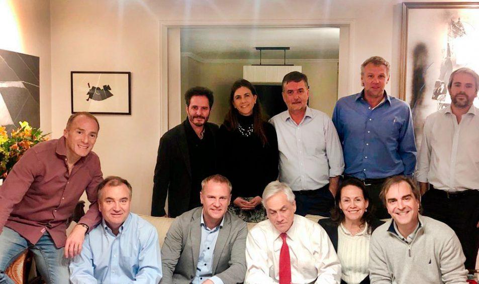 Productiva reunión de la Bancada Evópoli con el Presidente Piñera
