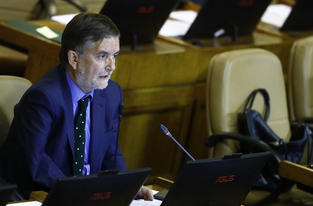 Discurso en sala: Nuevo régimen de financiamiento para las Fuerzas Armadas
