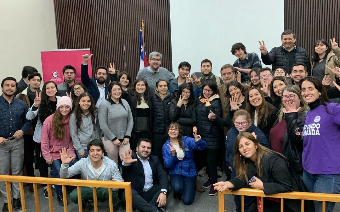 Conversando de inclusión en UNAB Concepción