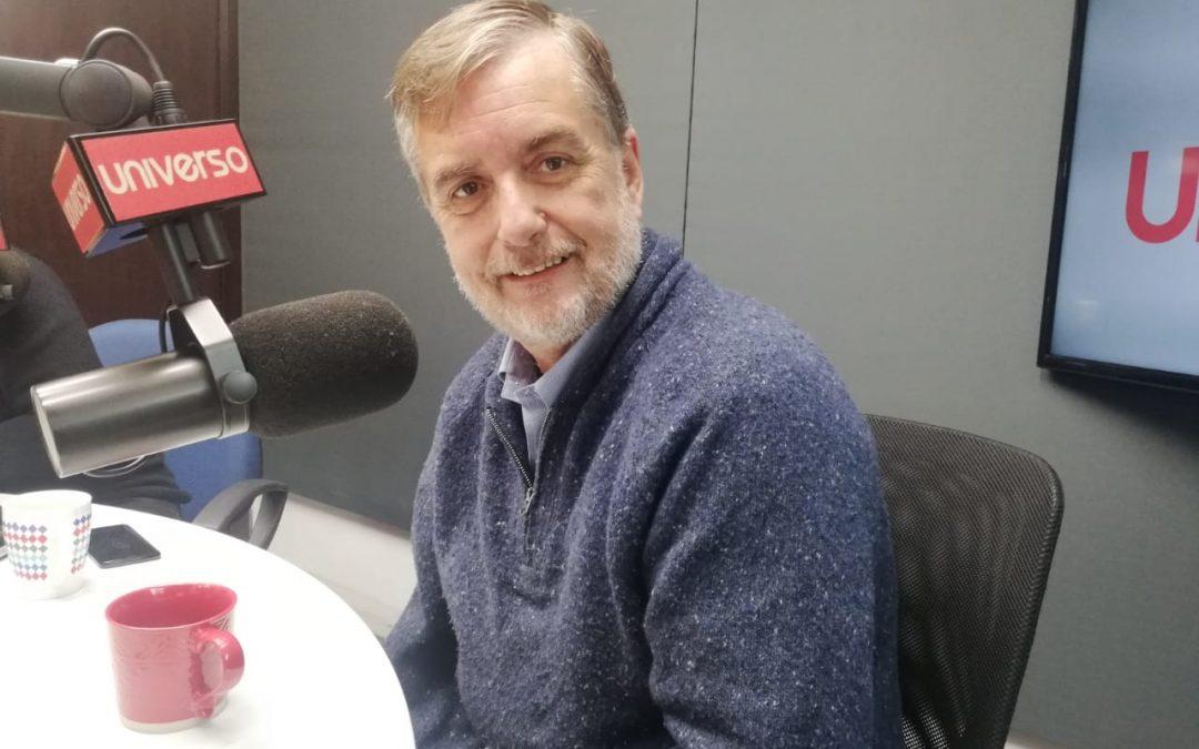 Estuve en la Radio Universo comentando sobre las nuevas reformas que queremos aprobar