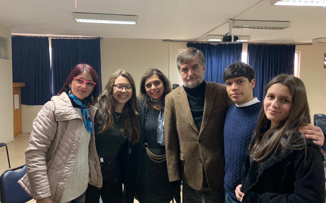 Conversando de inclusión en el Colegio Eleuterio Ramírez de La Reina