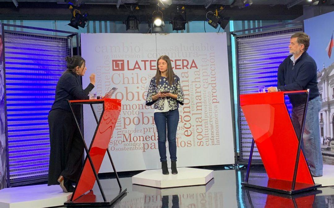 Debatiendo sobre Modernización Laboral en La Tercera TV